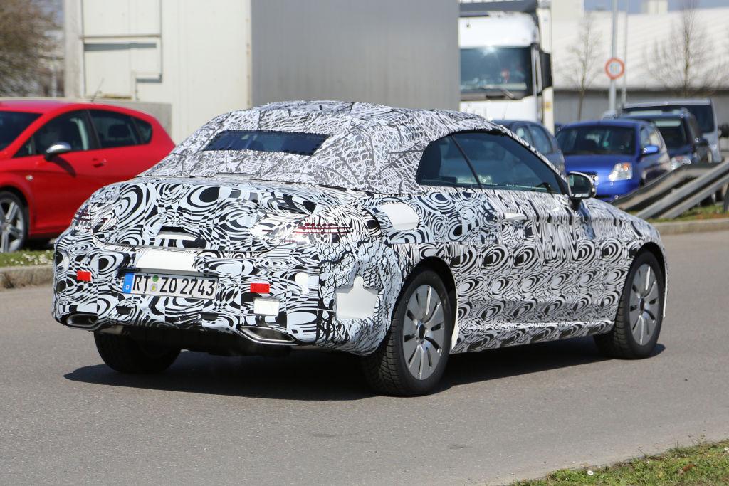 Erwischt: Erlkönig Mercedes C-Klasse Cabrio