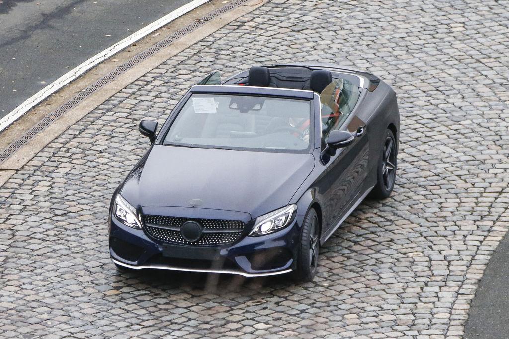 Erlkönig Mercedes-Benz C-Classe Cabrio
