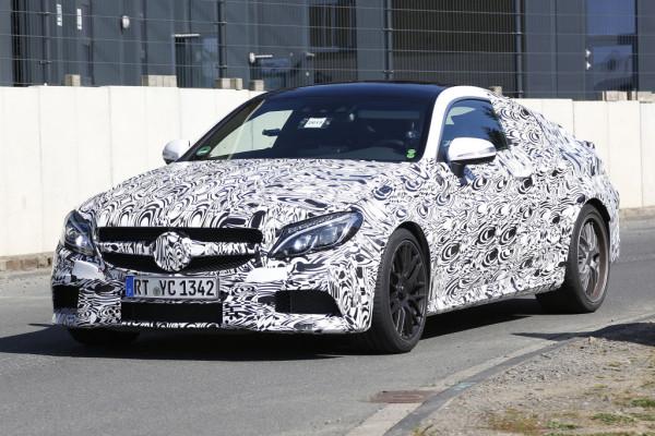 Erwischt: Mercedes C-Klasse Coupé als AMG