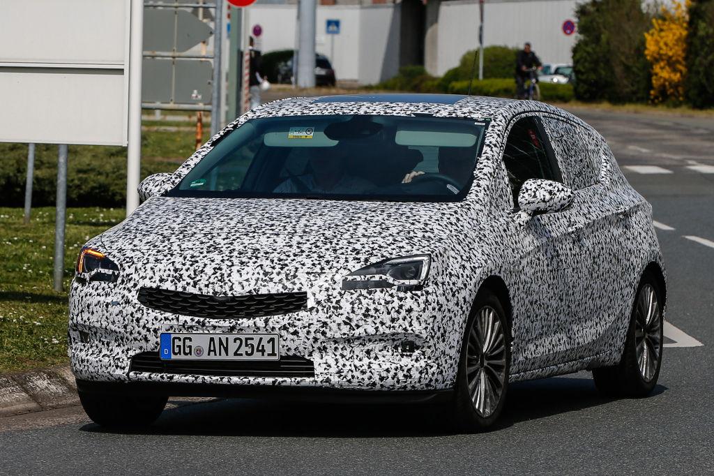 Erlkönig Opel Astra K