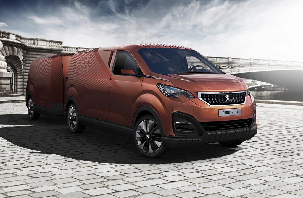 Peugeot-Design-Lab entwirft Foodtruck