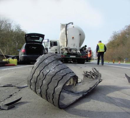 EU sieht keinen Bedarf für Lkw-Reifendruck-Kontrollsysteme