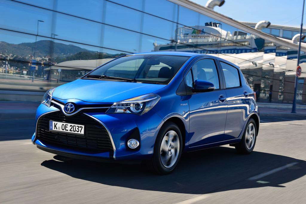 Toyota legt um zwei Prozent zu
