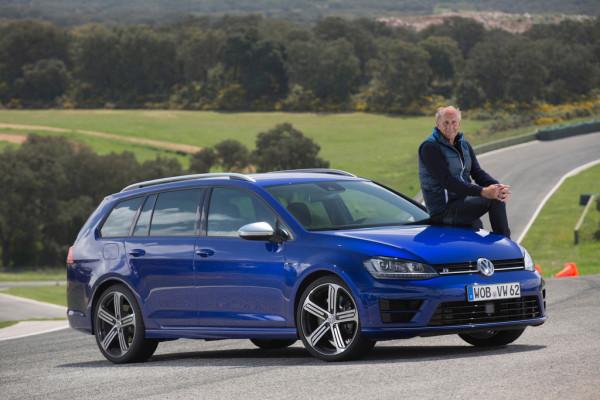 VW Golf R Variant: Unterwegs mit Hans-Joachim Stuck