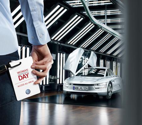 """Volkswagen lädt zum """"Woman Experience Day"""