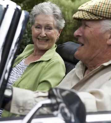 Weiterbildung für ältere Autofahrer