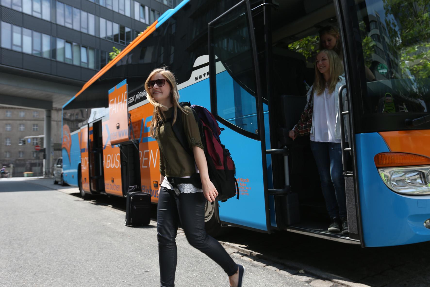 Fernbus-Boom ohne Urlauber und Geschäftsleute