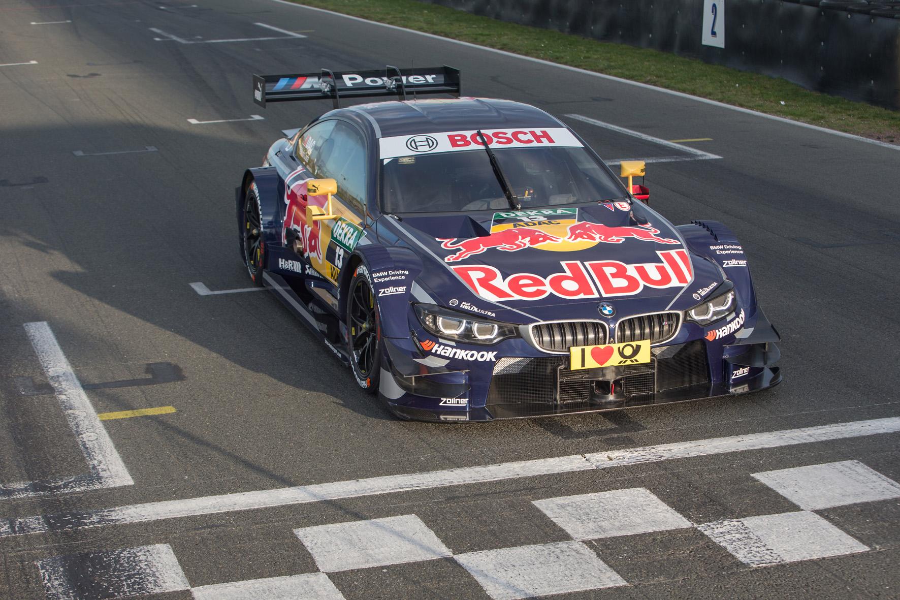 DTM: BMW-Rennfahrer mit der