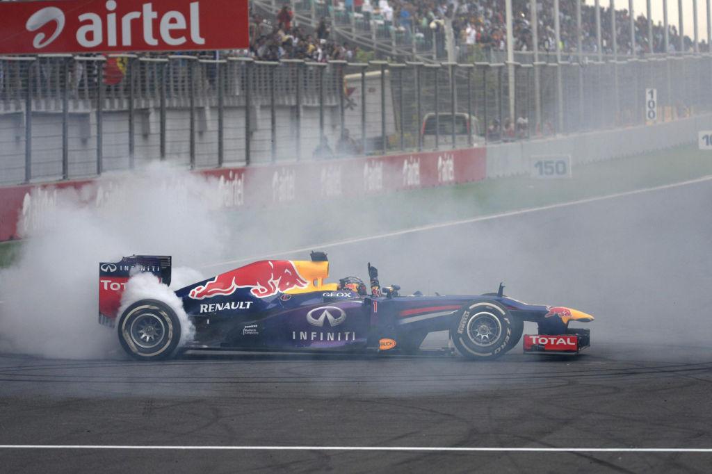Red-Bull Formel 1 Rennwagen