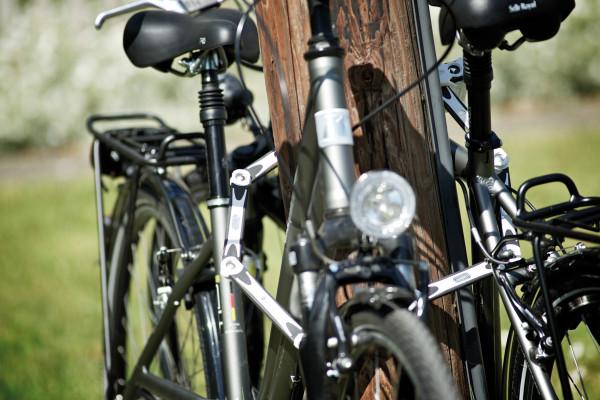 So werden Fahrraddiebe ausgetrickst
