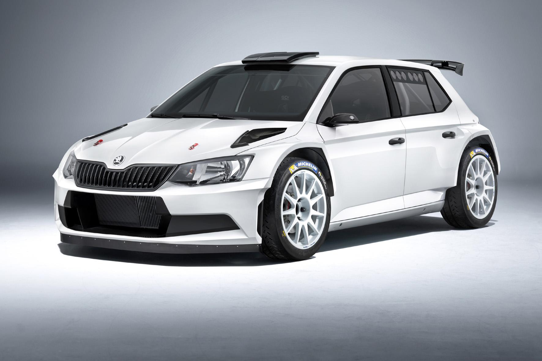 Skoda Fabia R 5 darf auf die Rallye-Piste