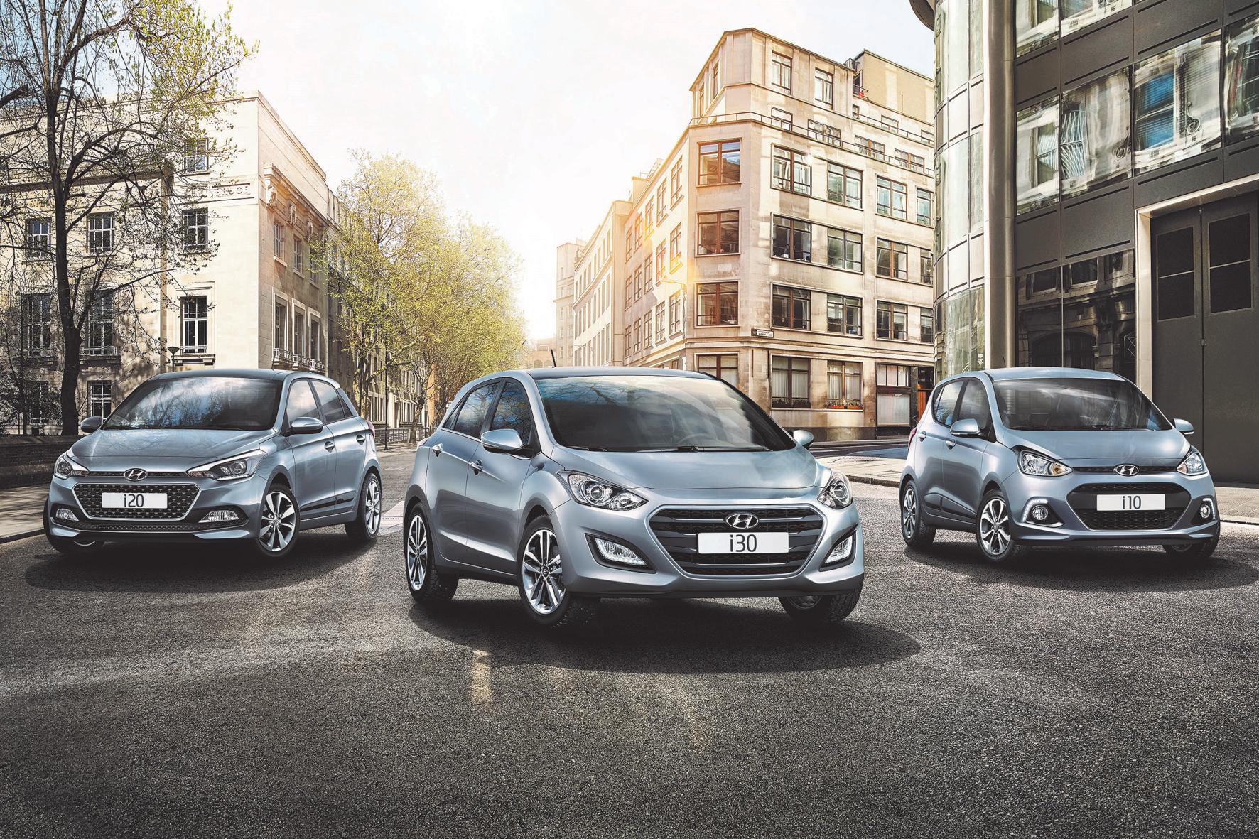Hyundai mit neuen Sondermodellen