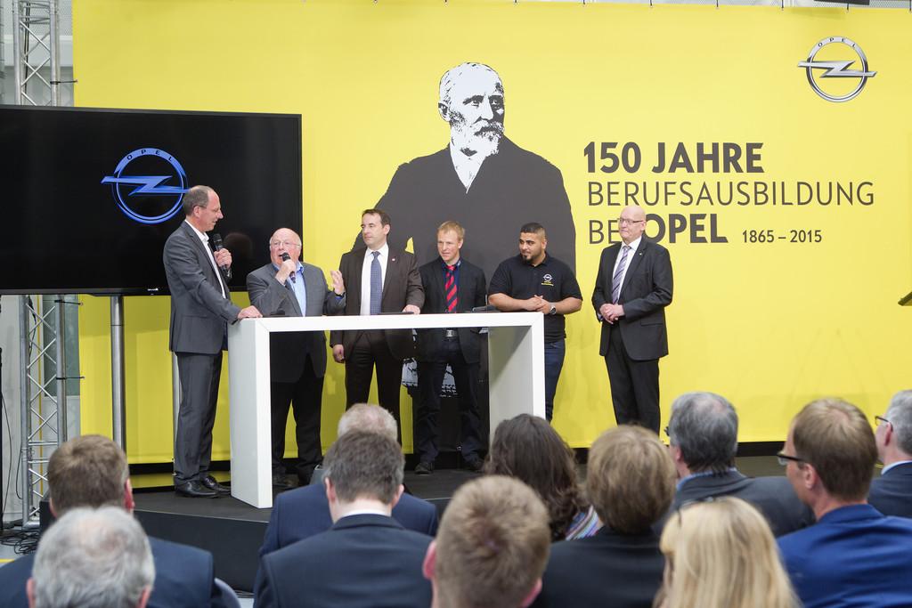 Ausbildung: Opel feiert mit Bundesarbeitsministerin Nahles und Norbert Blüm