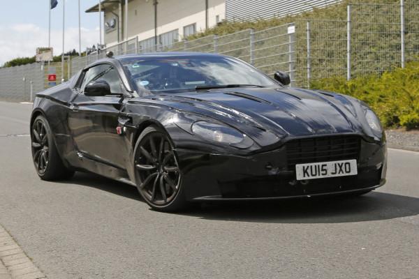 Erwischt: Erlkönig Aston Martin DB 11
