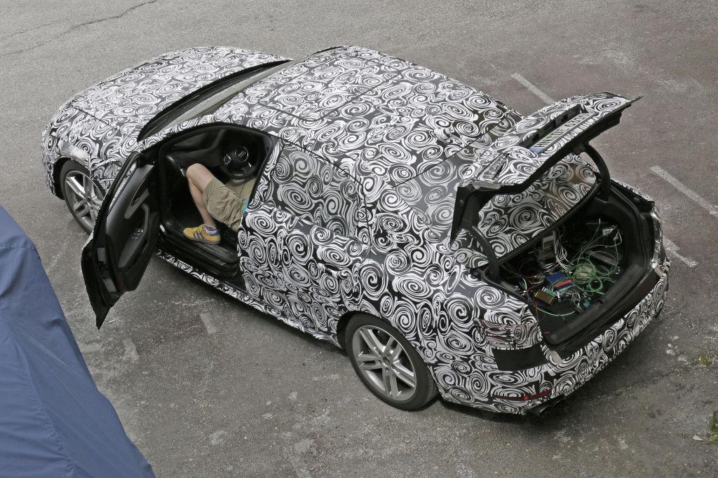 Erwischt: Audi A4 und A4 Avant