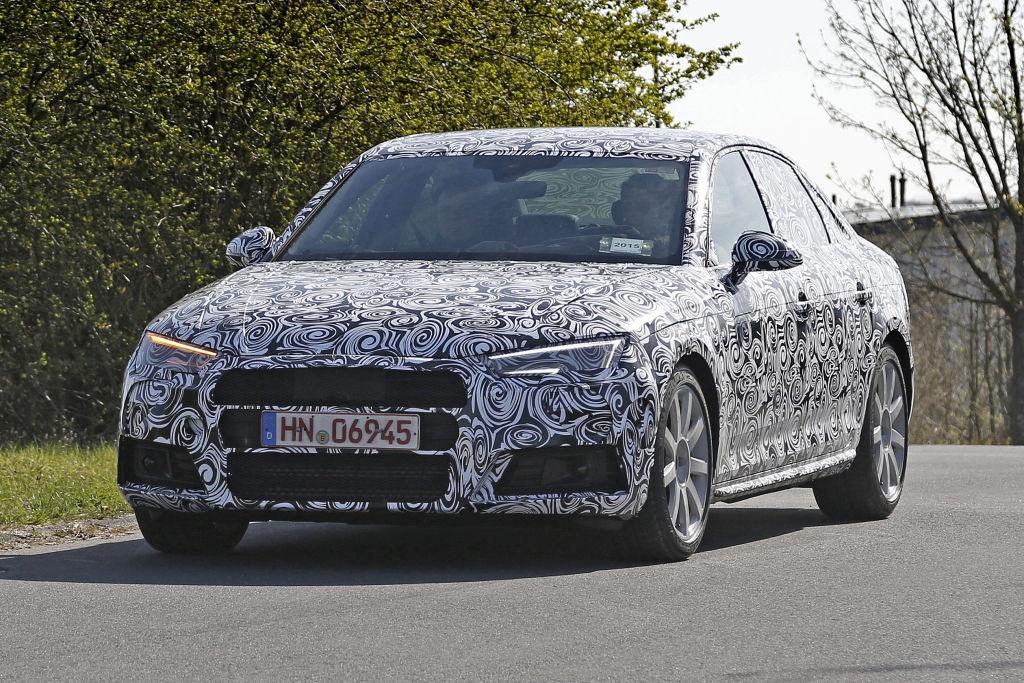 Erwischt: Erlkönig Audi S4 und S4 Avant