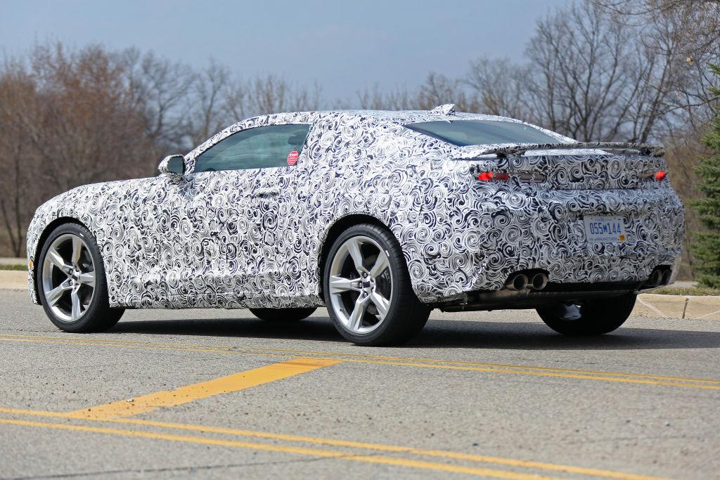 Erwischt: Erlkönig Chevrolet Camaro - Muscle Car im Super Sport-Trim