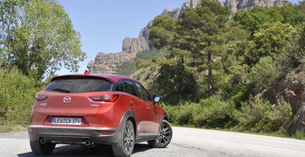 Testtag #1 mit dem Mazda CX-3 Skyactive-D 105 AWD Automatik