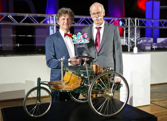 Daimler feiert Karlsruher Stadtgeburtstag mit