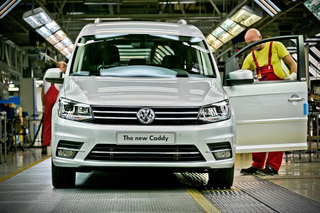 Caddy-Produktion angelaufen