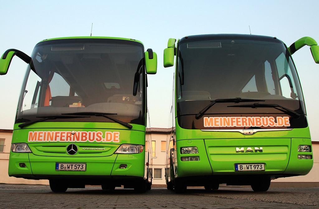 500.000 Neukunden: Fernbusse wildern bei der Bahn