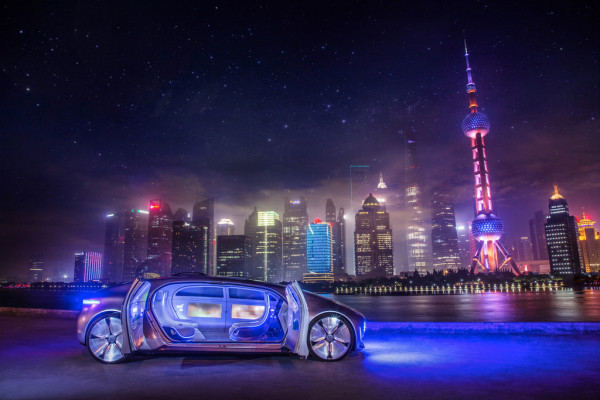 CES Asia 2015: Mercedes-Benz in China mit Baidu