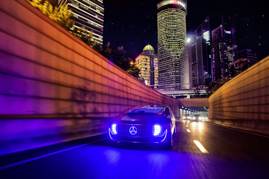 CES Asia 2015: Mercedes-Benz in China mit Baidu