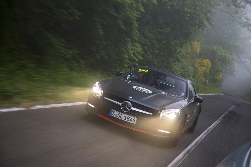 Test Mercedes-Benz SL 500 Mille Miglia 417: Starke Reminiszenz
