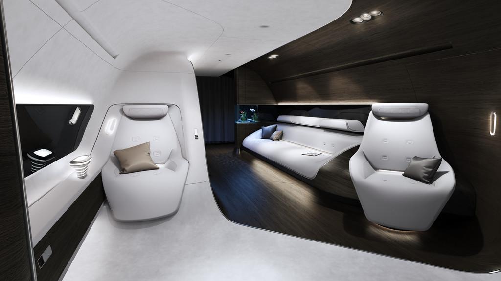 Mercedes-Benz und Lufthansa entwickeln Luxus-Kabine