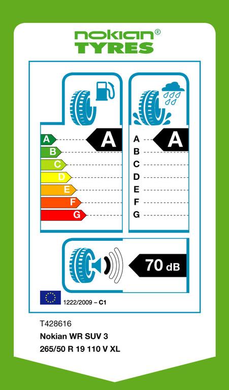 Nokian bringt ersten AA-Winterreifen für SUV
