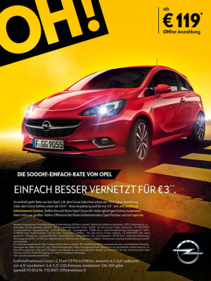 Opel Leasing ohne Anzahlung