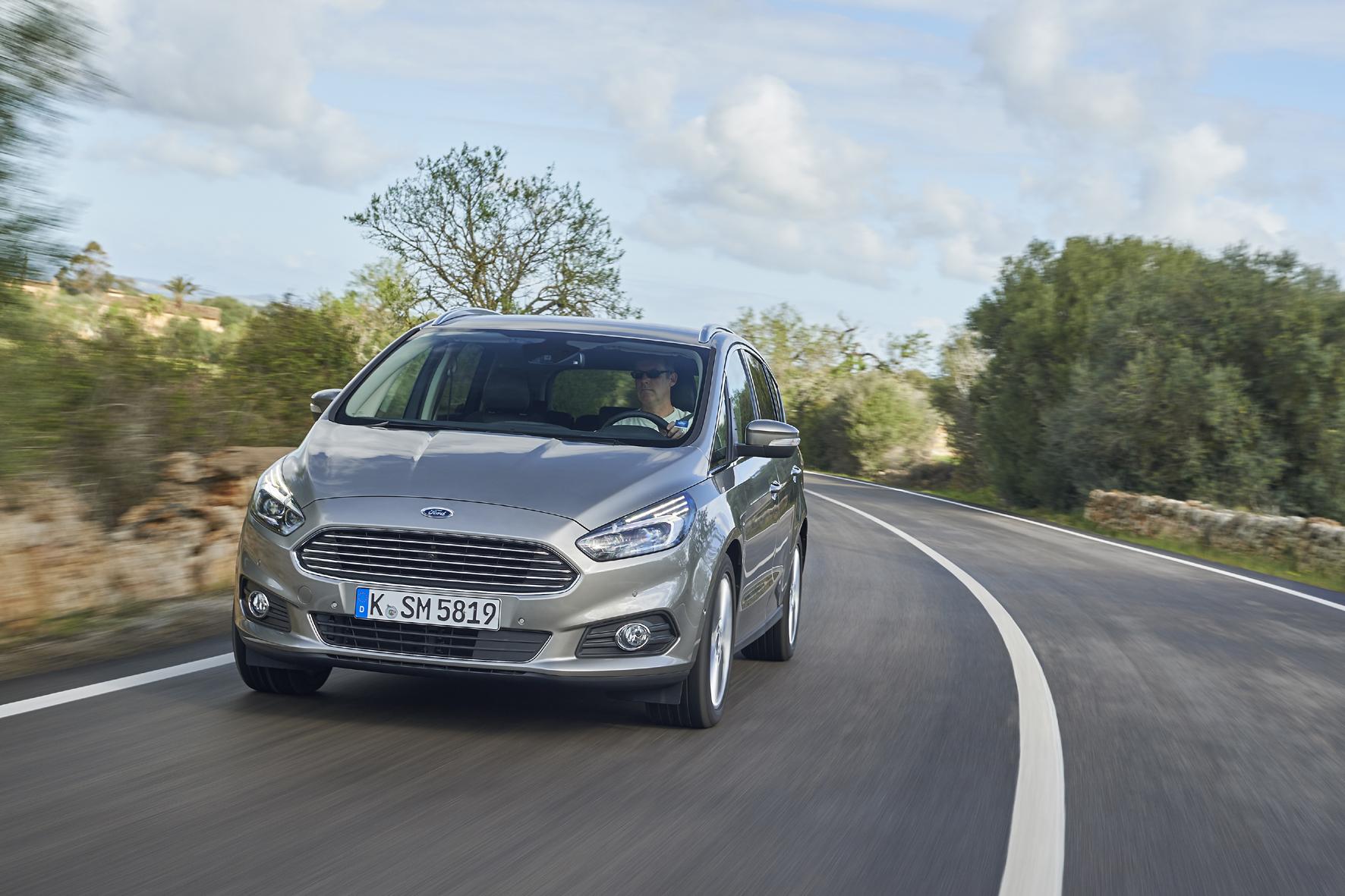 Mit dem Ford S-Max aktiv Tempolimits einhalten