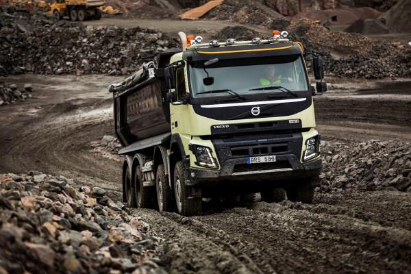 Automatischer Allradantrieb von Volvo-Trucks