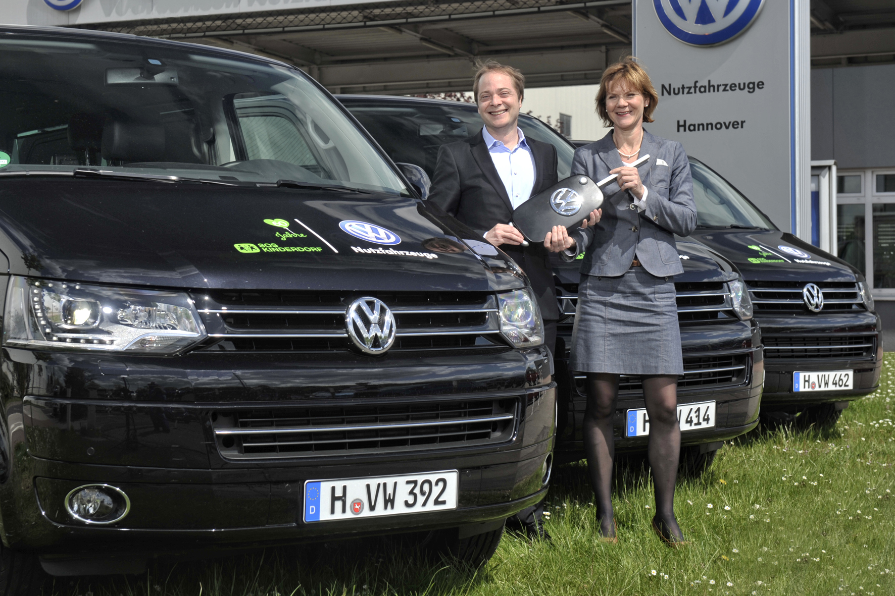 VW macht das SOS-Kinderdorf mobil