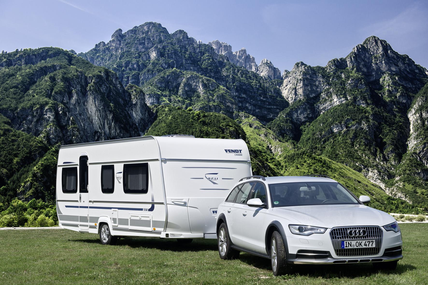 Caravan und Campingplatz auf einen Klick