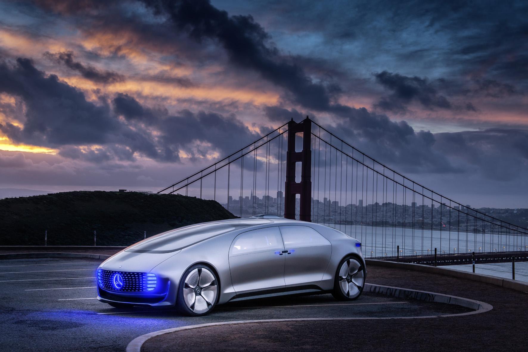 Mercedes: Vollgas beim autonomen Fahren