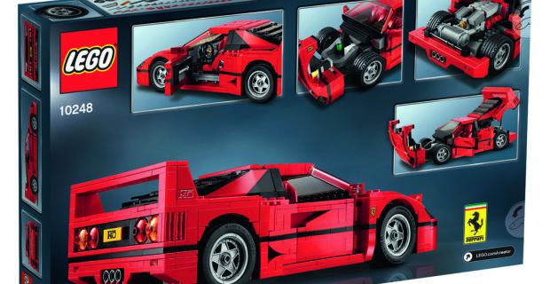 Mit 1.158 LEGO Elementen zum Traumwagen