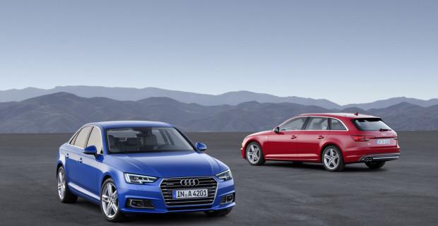 Erste Fahrt im Audi A4: Kein Ingolstädter kann mehr