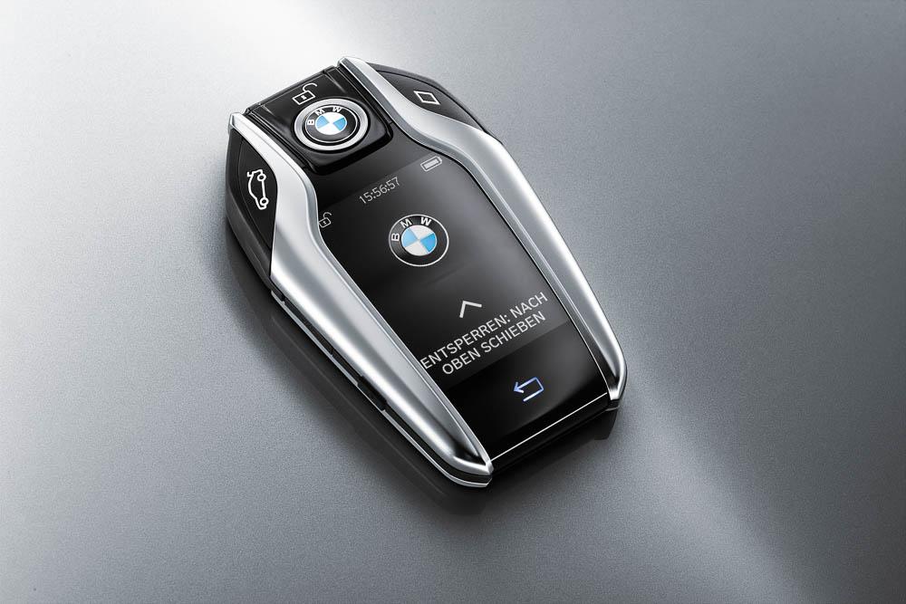 """""""Der Schlüssel zum Glück. Mit dem neuen Schlüssel kann der Siebener Kunde seinen Wagen sogar ferngesteuert Parken."""""""