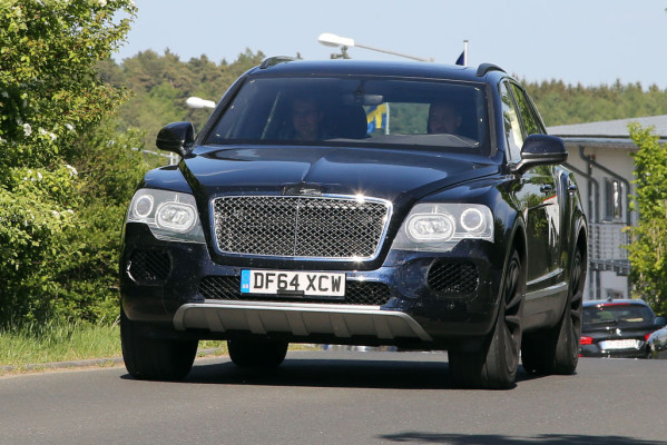 Erwischt: Erlkönig Bentley Bentayga – Luxus-SUV fast ungetarnt
