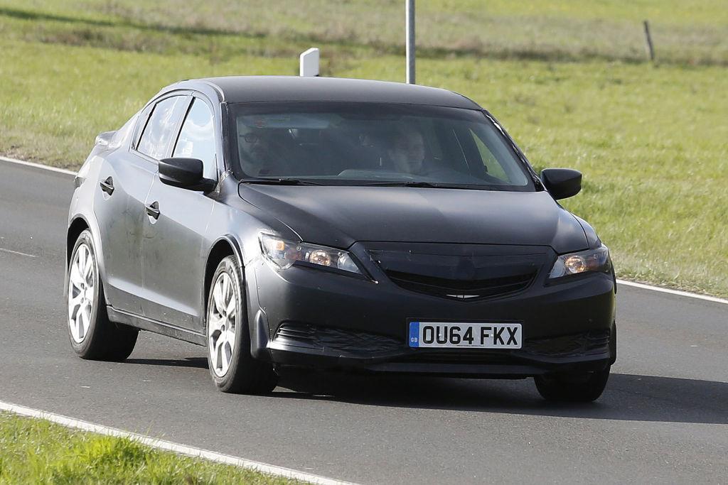 Erwischt: Erlkönig Honda Civic Mule