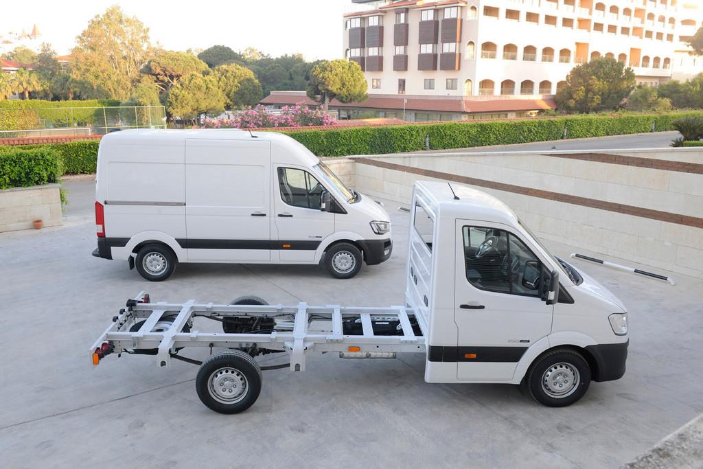 Hyundai H350: Einstieg in das Geschäft der 3,5-Tonner