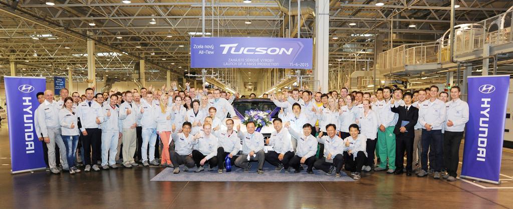 Hyundai Tucson: Produktionsstart in Tschechien