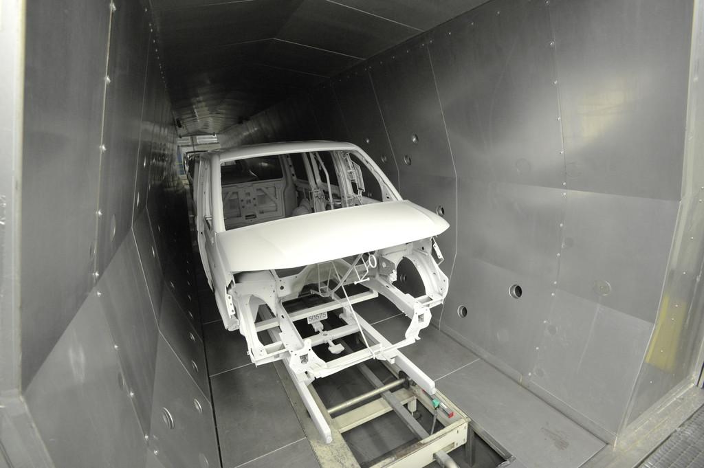 Neues Lack-Trockungsverfahren bei VW