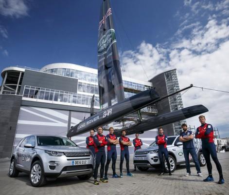Land Rover unterstützt America's-Cup-Team