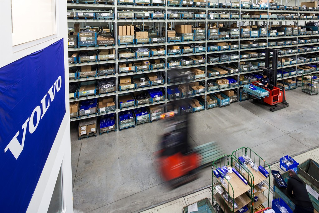 Dezentralisierung der Volvo-Ersatzteilversorgung abgeschlossen