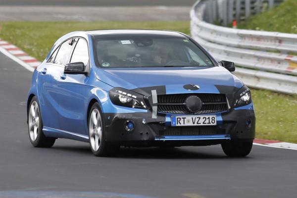Erwischt: Mercedes A-Klasse Facelift