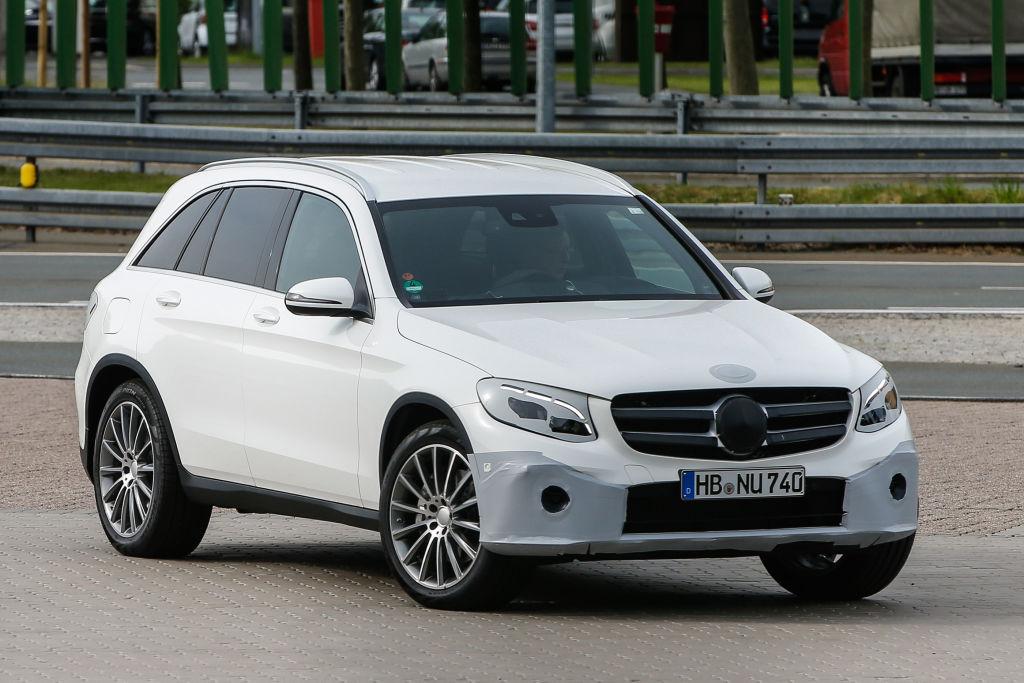 Erwischt: Erlkönig Mercedes GLC – GLK-Nachfolger fast ungetarnt
