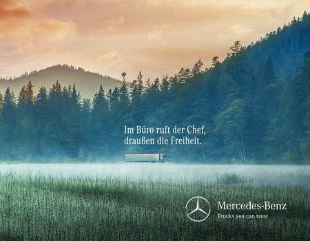 Mercedes-Benz wirbt um Fernfahrer-Nachwuchs