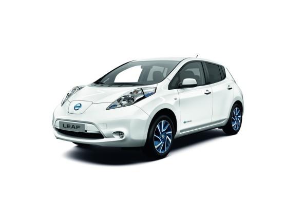 Schneller Laden mit der Limited Edition des Nissan Leaf